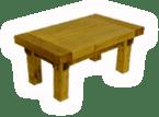 Balzsam asztal gerendából